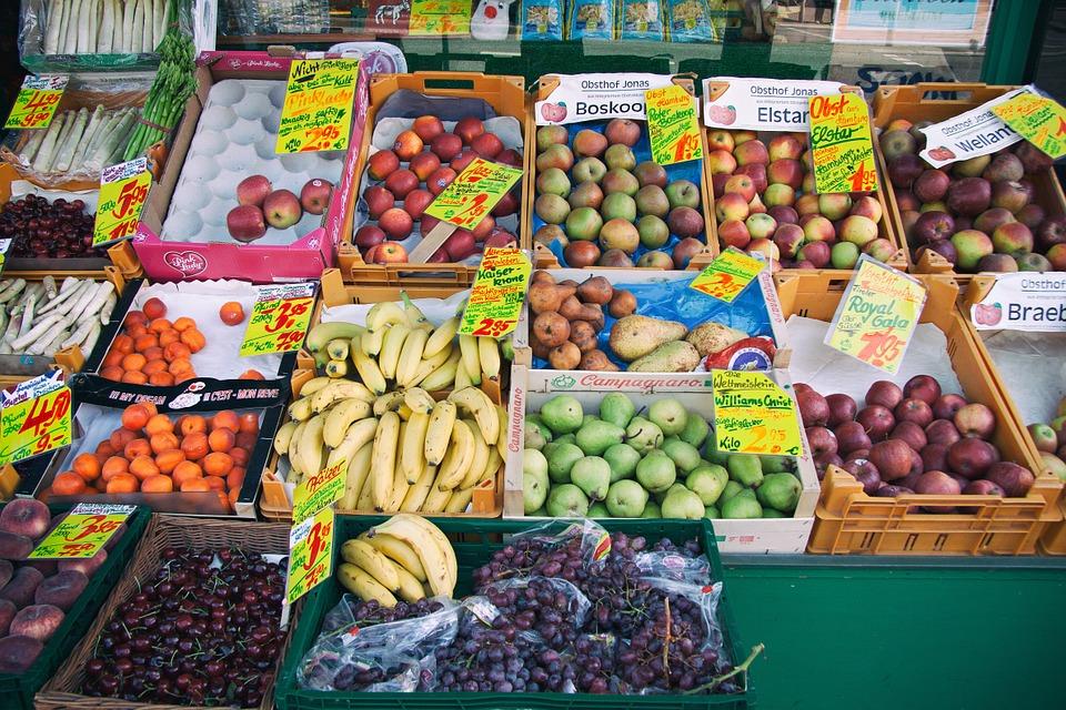 Market - healthy foods