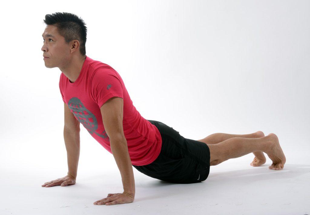 yoga stretching sport